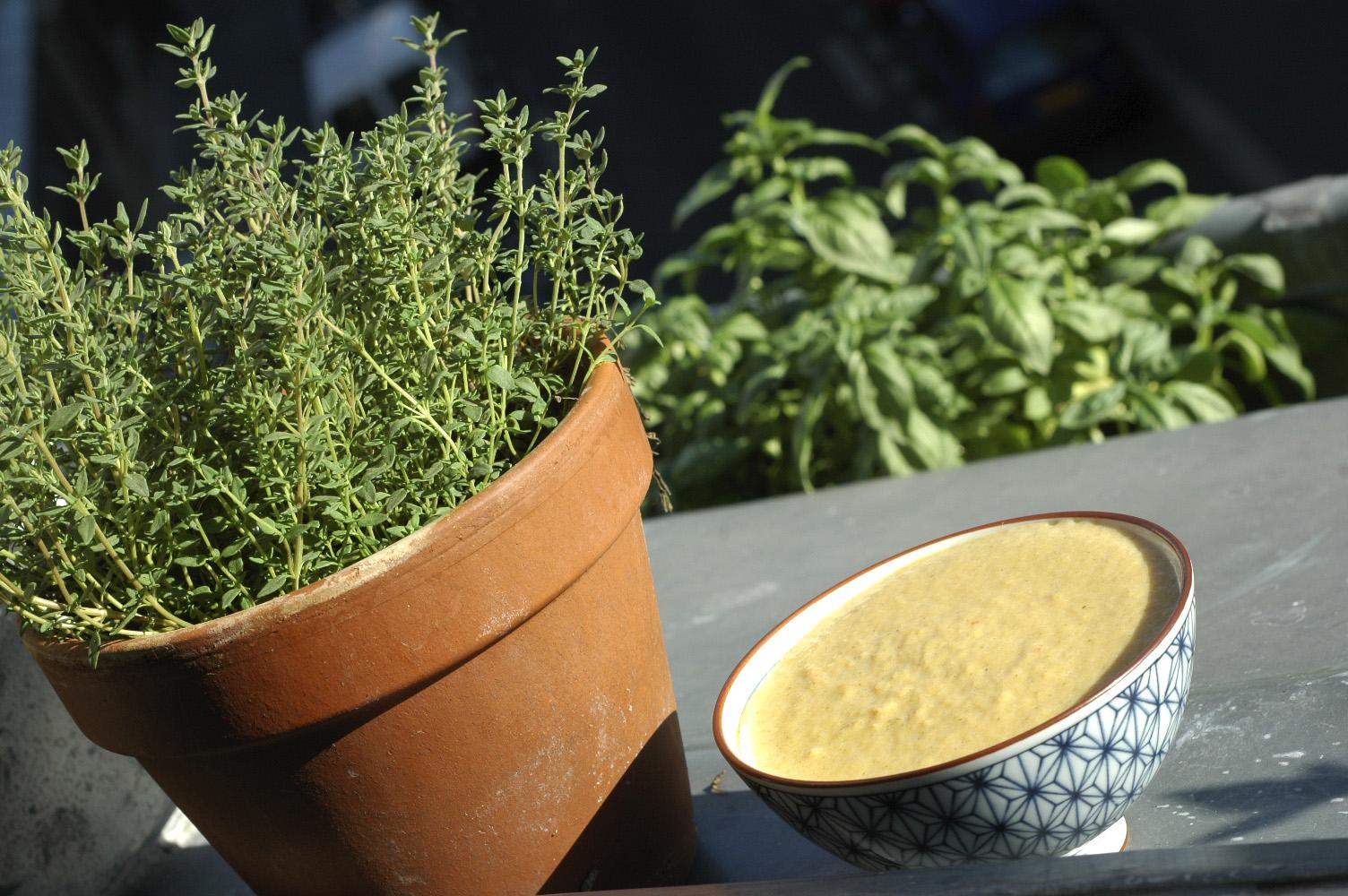 090726 Soupe de Mais aux poivrons