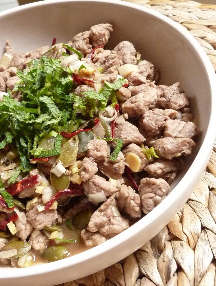 100605 Salade de veau thaie (Copier)