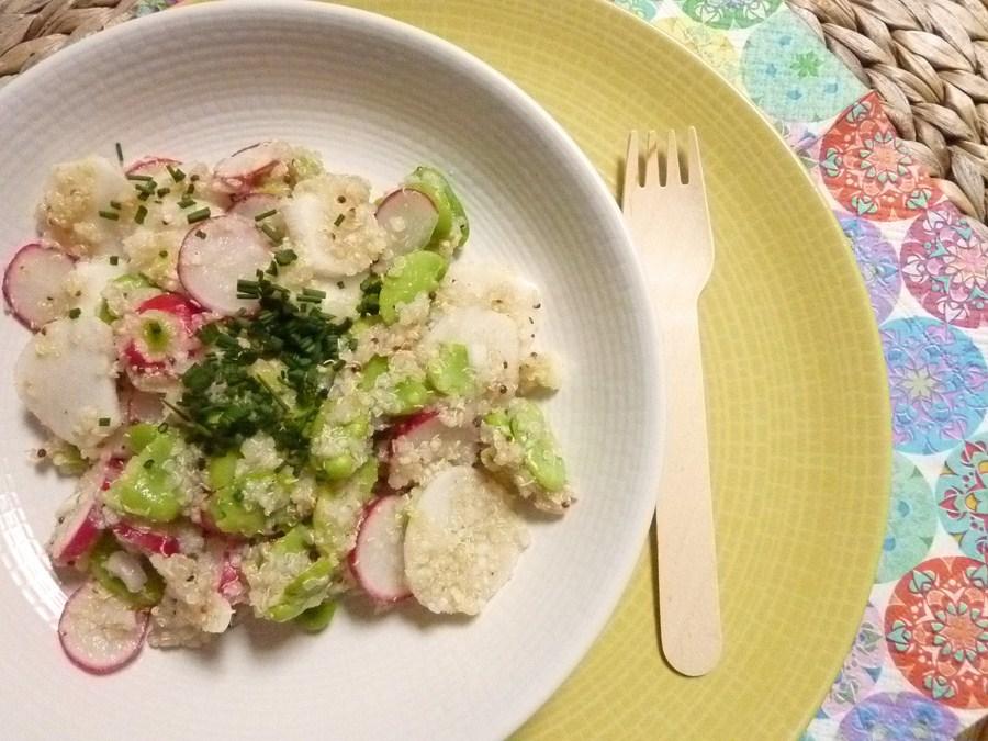 100618 Salade de quinoa aux légumes de printemps (Copier)