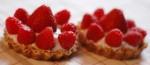 100626 le 1er anniversaire & les tartelettes fraisesframboises