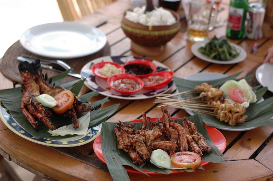 110729 Jimbaran, Bali, de la mer à l'assiette (1)